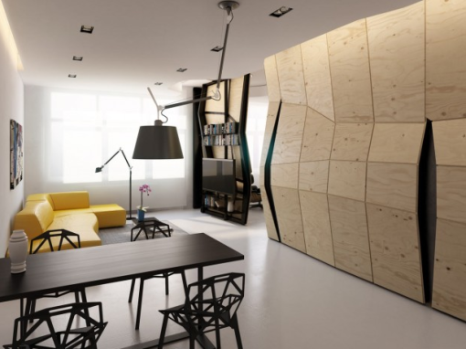 Transformer Apartment par Vlad Mishin   Journal du Design2