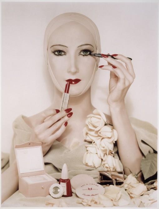 Étude pour une photographie publicitaire-Erwin Blumenfeld