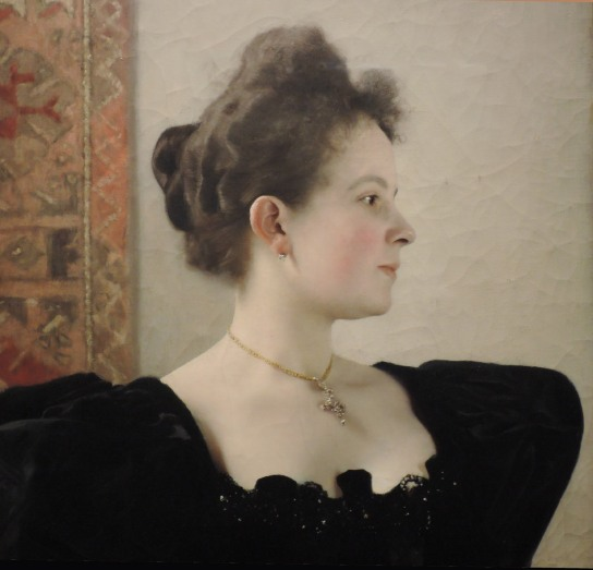 Gustav Klimt, portrait de femme, 1894