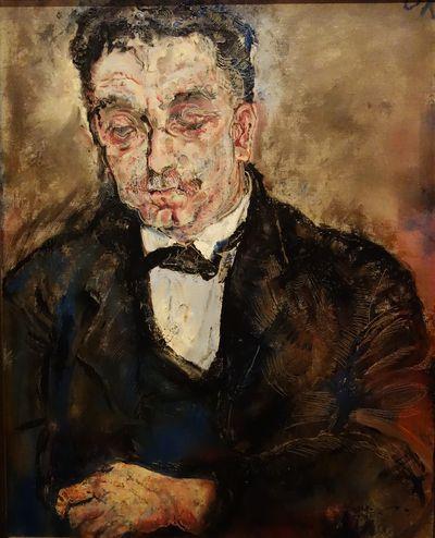 Oskar Kokoschka. Le Trésorier, 1910. Huile sur toile